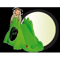 Inlea4Fun šmykľavka Dinosaurus