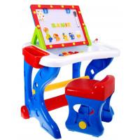 Inlea4Fun multifunkčný stolík na kreslenie s tabuľou