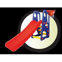 Inlea4Fun detské ihrisko s nastaviteľnou šmykľavkou