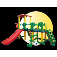 Inlea4Fun 2XL Mega detské ihrisko so šmykľavkou a mostíkom Preview