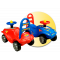 Inlea4Fun Mini Mobile odrážadlo pre deti
