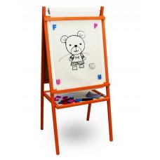 Inlea4Fun Teddy Mop detská tabuľa 4v1 Preview