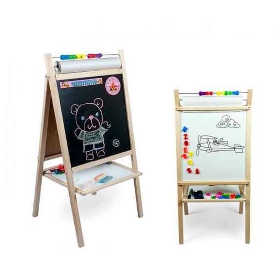 Inlea4Fun Detská tabuľa 5v1 SCHOOL