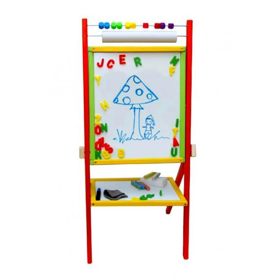 Inlea4Fun detská obojstranná tabuľa COLORS