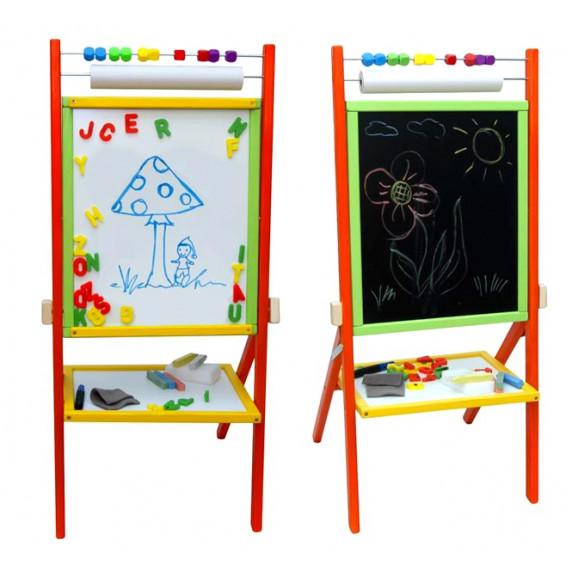 Inlea4Fun Detská tabuľa Colors