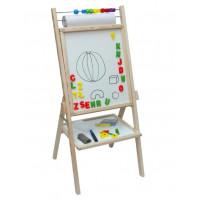 Inlea4Fun Otočná detská tabuľa Paint OPN