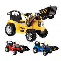 Inlea4Fun Elektrická štvorkolka Traktor