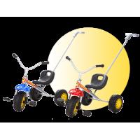Inlea4Fun tricykel s rukoväťou