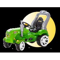 Inlea4Fun Big Farmer traktor s pedálmi - Zelená