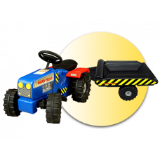 Inlea4Fun Hard Truck traktor s prívesom  Preview