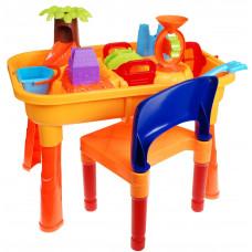 Inlea4Fun Sand and Water Table pieskovisko na stolíku Preview