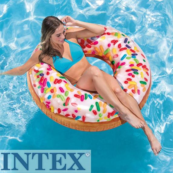 INTEX nafukovacie kreslo Sprinkle Donut