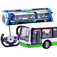 Autobus na diaľkové ovládanie Inlea4Fun RC BUS-G - zelený