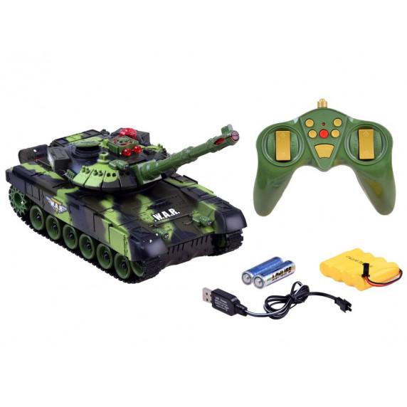 RC Tank WAR TANK Tank na diaľkové ovládanie 2,4 GHz Inlea4Fun