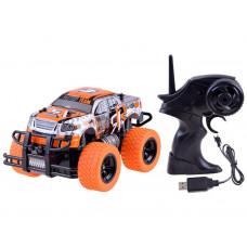 Auto na diaľkové ovládanie RC Inlea4Fun MONSTER TRUCK - oranžové Preview