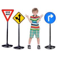 Detské dopravné značky 83 cm Inlea4Fun TRAFFIC SIGN
