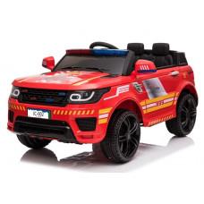 Elektrické autíčko Hasiči JC002 - červené Preview