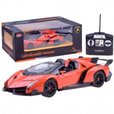 Inlea4Fun RC športové auto Lamborghini Veneno 1:14 oranžové Preview