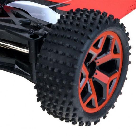 Inlea4Fun RC auto na diaľkové ovládanie BUGGY 4x4 - červené