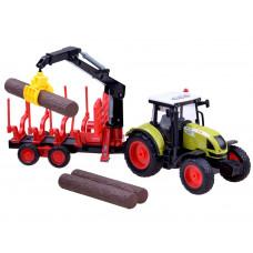 Inlea4Fun FARMLAND Detský traktor s návesom na prepravu dreva Preview