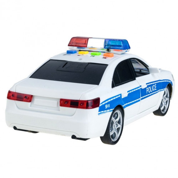 Inlea4Fun policajné auto City Service 24 cm