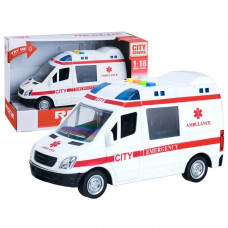 Inlea4Fun záchranárske auto City Service 22 cm Preview