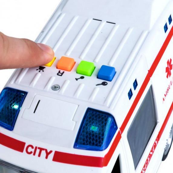 Inlea4Fun záchranárske auto City Service 22 cm
