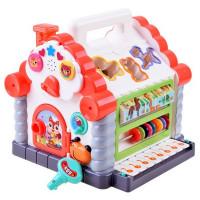 Interaktívny hrací domček s klavírom a melódiami HOLA 739
