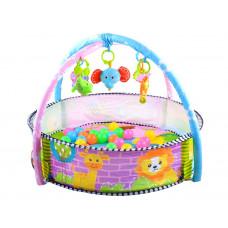 Hracia deka s farebnými loptičkami 2v1 Inlea4Fun BABY ACTIVITY Preview