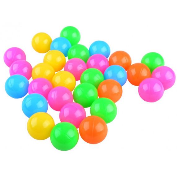 Hracia deka s farebnými loptičkami 2v1 Inlea4Fun BABY ACTIVITY