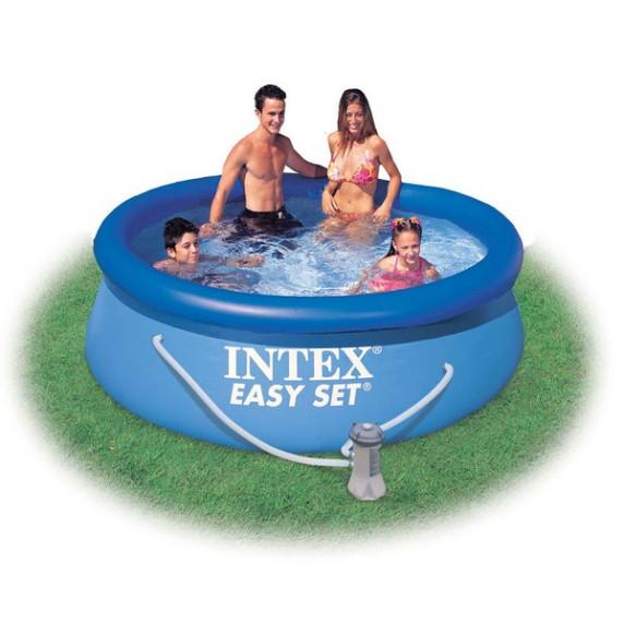 INTEX Easy Set rodinný bazén 305 x 76 cm kartušová filtrácia  28122NP