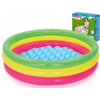 BESTWAY detský bazén Dúha 102 x 25 cm 51104