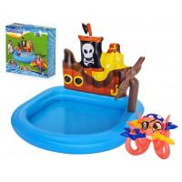 Detský nafukovací bazén Pirátska loď BESTWAY 52211-1