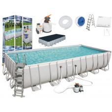 BESTWAY Power Steel rodinný bazén 732 x 366 x 132 cm + piesková filtrácia 56475 Preview