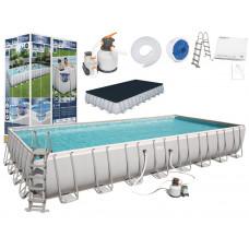 BESTWAY Power Steel rodinný bazén 956 x 488 x 132 cm + piesková filtrácia 56623  Preview