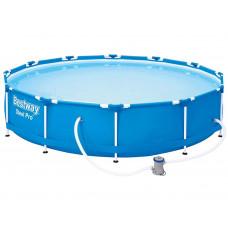 Rodinný bazén 366 x 76 cm BESTWAY 56681 Steel Pro + kartušová filtrácia  Preview