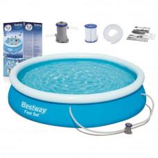 BESTWAY Fast Set samonosný rodinný bazén s kartušovou filtráciou 366 x 76 cm 57274 Preview
