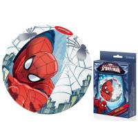 Nafukovacia plážová lopta pre deti Spiderman BESTWAY 98002