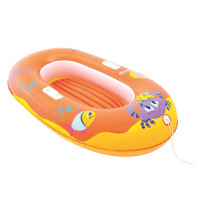 BESTWAY nafukovací čln pre deti KRAB 34009 - Oranžový