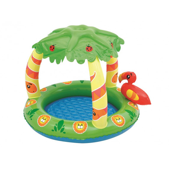 BESTWAY detský bazén Džungľa so strieškou 99 x 91 x 71 cm 52179