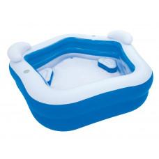 BESTWAY veľký detský bazén Family Fun so sedadlami 213 x 206 x 69 cm 54153 Preview