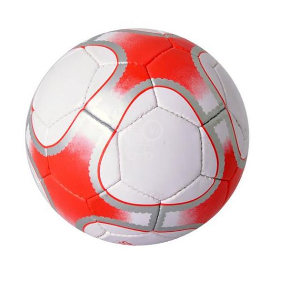 Futbalová lopta SPARTAN Corner Synth - červená
