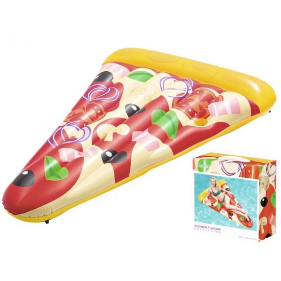 BESTWAY nafukovacie lehátko PIZZA