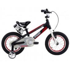 "RoyalBaby SPACE NO.1 Detský bicykel 16-17 16"" - čierné Preview"