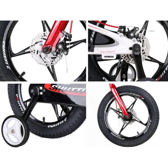 """RoyalBaby Detský bicykel 16"""" SPACE SHUTTLE RB16-22 - fiaľový"""