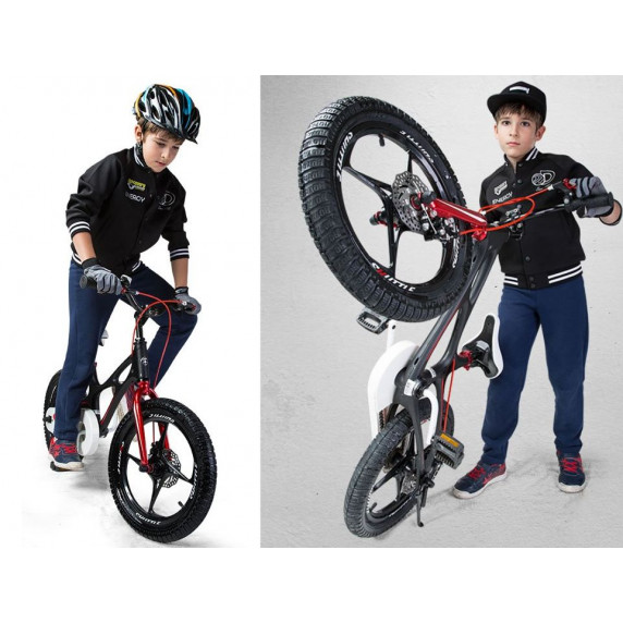 """RoyalBaby Detský bicykel 16"""" SPACE SHUTTLE RB16-22 - čierny"""