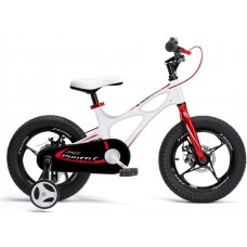 """RoyalBaby Super Rower Detský bicykel 16"""" SPACE SHUTTLE RB16-22 - biely Preview"""