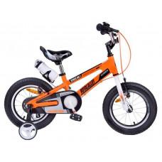 """RoyalBaby SPACE NO.1 Detský bicykel 16-17 16"""" - oranžové Preview"""