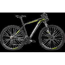 KROSS Horský bicykel LEVEL 3.0 - čierno - zelený