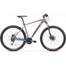 KROSS Horský bicykel LEVEL 4.0 - šedo - oranžový